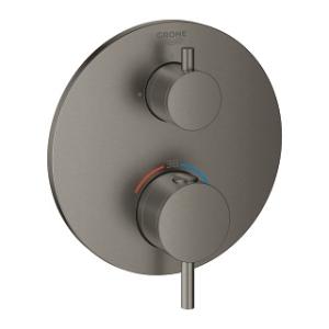 Bateria Grohe Atrio 24134AL3 brushed hard graphite termostatyczna prysznicowa