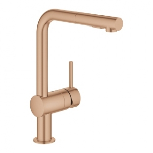 Bateria kuchenna Grohe Minta 30274DL0 brushed warm sunset