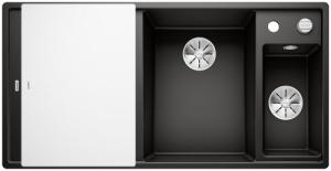 Blanco Axia III 6 S zlewozmywak z odsączarką 525850 czarny