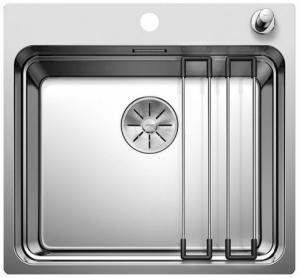 Blanco Etagon 500-IF jednokomorowy zlew kuchenny 521748 stal polerowana