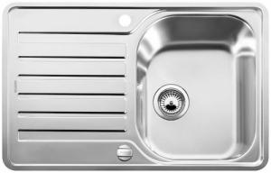 Blanco Lantos 45 Compact zlew kuchenny 519059 stal szczotkowana