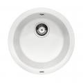 Blanco Rondo zlewozmywak okrągły PuraDur II silgranit biały 511621