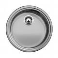 Blanco Rondosol zlewozmywak stalowy okrągły dekor 513308