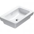 Catalano Canova Royal umywalka 60x40 cm prostokątna biała 160ACV00