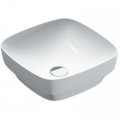 Catalano Green Lux umywalka 40 cm kwadratowa biała 140AGRLX00