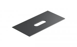 Catalano Horizon blat ceramiczny 100x50 czarny mat 1PC10050NS