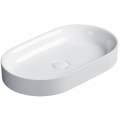 Catalano Horizon umywalka 60x35 cm nablatowa biały błyszczący 160AHZ00