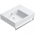 Catalano Premium Up umywalka 60x47 cm prostokątna lewa biała 160SVPUP00