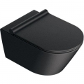 Catalano Zero miska WC wisząca Newflush czarny mat 1VS55NRNS