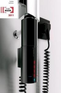 Czarna grzałka elektryczna Instal Projekt Hot2 300W HOTS-03C2