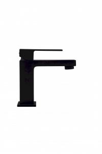 Czarna bateria umywalkowa Paffoni Elle Black EL071NO