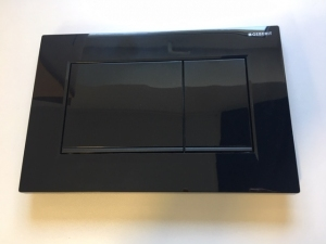 Czarny przycisk Geberit Sigma30 115.883.DW.1 do UP320
