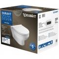 Duravit DuraStyle Basic miska WC wisząca Rimless z deską wolnoopadającą 45620900A1