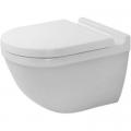 Duravit Starck 3 miska WC wisząca Rimless biała 2527090000