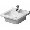 Duravit Starck 3 umywalka 48x46,5 cm wpuszczana w blat prostokątna biała 0303480022