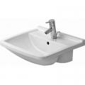 Duravit Starck 3 umywalka 55x46 cm półblatowa prostokątna biała 0310550000
