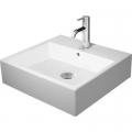 Duravit Vero Air umywalka 50x47 cm meblowa prostokątna biała 2350500000