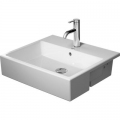 Duravit Vero Air umywalka 55x47 półblatowa 0382550000