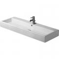 Duravit Vero umywalka 120x47 cm szlifowana prostokątna biała 0454120028