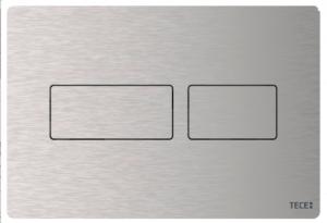 Dwudzielny metalowy przycisk Tece Solid 9240430