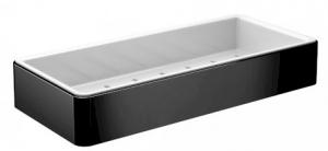 Emco Loft półka prysznicowa czarna 054513302