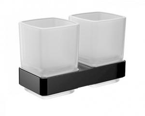 Emco Loft dwie szklanki wiszące z uchwytem 052513300