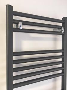Fondital Cool aluminiowy grzejnik łazienkowy 1160x450 Corvino