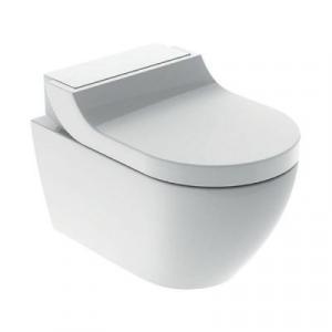 Geberit AquaClean Tuma Comfort urządzenie WC z funkcją higieny intymnej szkło białe 146.292.SI.1