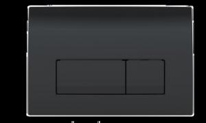 Geberit Delta51 czarny przycisk wc 115.105.DW.1