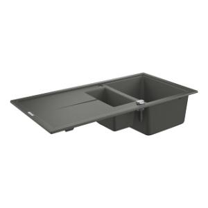 Grohe 31642AT0 zlew kuchenny 1,5 komory szary granit