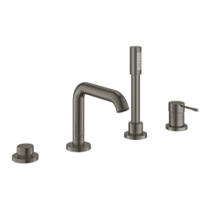 Grohe Essence 19578AL1 4 otworowa wannowa brushed hard graphite