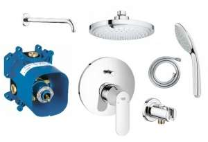 Grohe Eurosmart Cosmopolitan 180 shower set