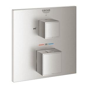 Grohe Grohtherm Cube podtynkowy termostat wannowy stal nierdzewna 24155DC0