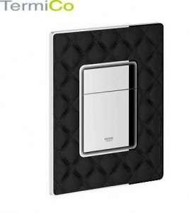 Grohe Skate Cosmopolitan przycisk spłukujący Leather Black 38913XN0