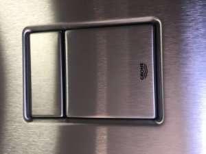 Grohe Skate Cosmopolitan przycisk wc stal szlachetna 38732SD0
