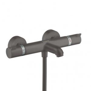Hansgrohe Ecostat Comfort termostat wannowy 13114340 szczotkowany czarny chrom