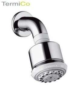 Hansgrohe Głowica prysznicowa Clubmaster z ramieniem prysznicowym chrom 27475000