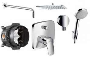 Hansgrohe Logis 300 podtynkowy zestaw prysznicowy