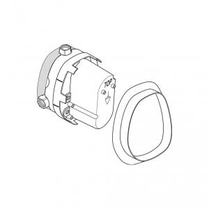 Ideal Standard Marc Newson element podtynkowy baterii termostatycznej A2354NU