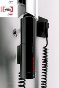 Instal Projekt Hot2 czarna grzałka elektryczna 600W HOTS-06C2