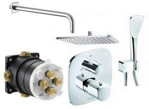 Kludi Ameo 300 podtynkowy termostatyczny zestaw prysznicowy