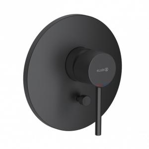 Kludi Bozz Black podtynkowa bateria wannowa czarna 386503976