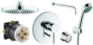 Kludi Bozz komplet prysznicowy podtynkowy 250