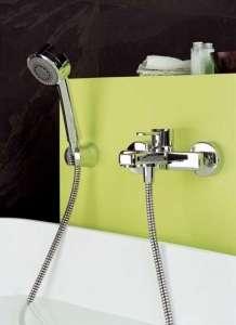 Kludi Zenta zestaw bateria wannowa z zestawem prysznicowym