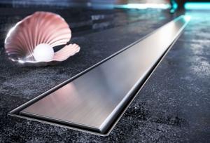 Odpływ łazienkowy liniowy Wslim Viega Steel L-500 pełny