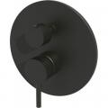 Paffoni Light bateria wannowo-prysznicowa podtynkowa czarny mat LIG019.NO