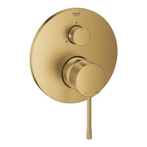 Podtynkowa bateria 3 drogowa Grohe Essence 24092GN1 szczotkowane złoto