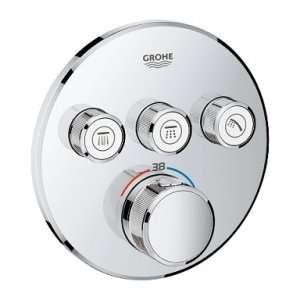 Podtynkowy termostat do 3 odbiorników Grohe 29121000