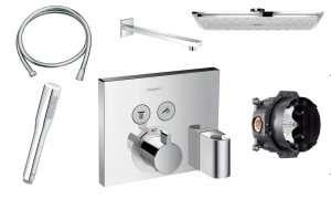 Podtynkowy termostatyczny zestaw prysznicowy Shower