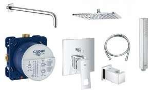 Podtynkowy zestaw prysznicowy Grohe Eurocube Smart z deszczownicą 300